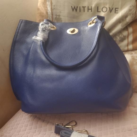 Pink Haley Blue tote/crossbody great fall bag